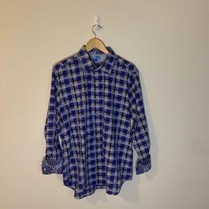 Robert Graham Checkered Button Down Shirt